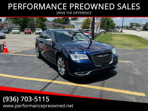 2015 Chrysler 300 for sale at PERFORMANCE PREOWNED SALES in Conroe TX