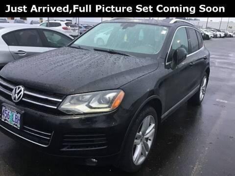 2014 Volkswagen Touareg for sale at Royal Moore Custom Finance in Hillsboro OR