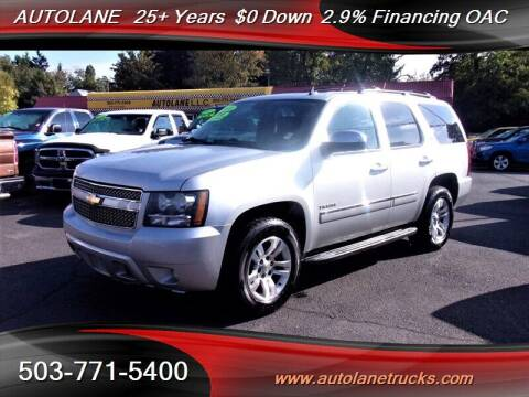 2010 Chevrolet Tahoe for sale at Auto Lane in Portland OR