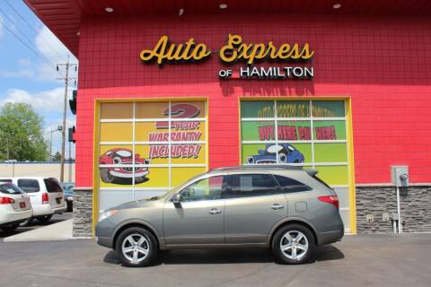 2008 Hyundai Veracruz for sale at AUTO EXPRESS OF HAMILTON LLC in Hamilton OH