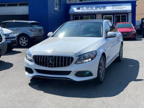 2016 Mercedes-Benz C-Class for sale at AGM AUTO SALES in Malden MA