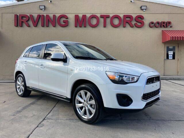 2014 Mitsubishi Outlander Sport for sale at Irving Motors Corp in San Antonio TX