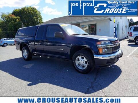 2004 Chevrolet Colorado for sale at Joe and Paul Crouse Inc. in Columbia PA