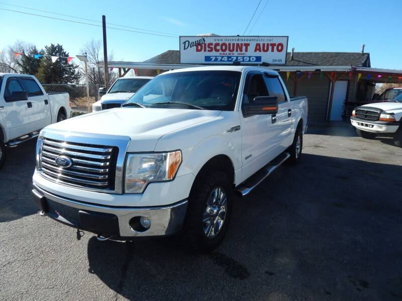 2012 Ford F-150 for sale at Dave's discount auto sales Inc in Clearfield UT