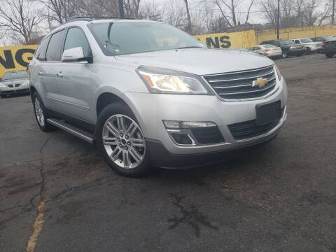 2013 Chevrolet Traverse for sale at Cj king of car loans/JJ's Best Auto Sales in Troy MI