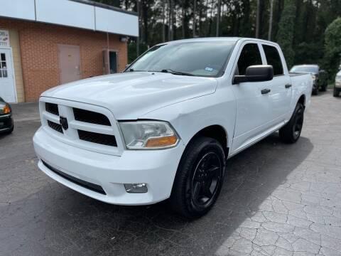 2012 RAM Ram Pickup 1500 for sale at Magic Motors Inc. in Snellville GA