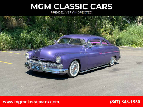 1950 Mercury Coupe for sale at MGM CLASSIC CARS in Addison IL