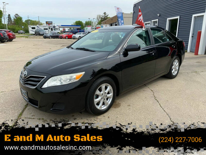 2011 Toyota Camry for sale at E and M Auto Sales in Elgin IL