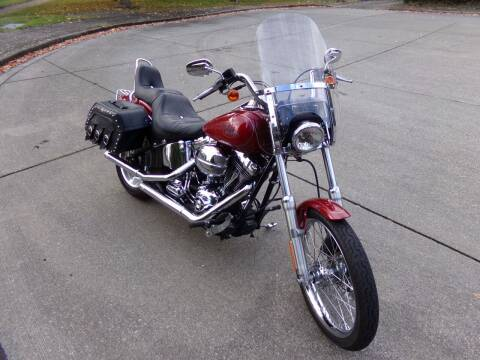 2007 HARLEY DAVIDSON FXST {SOFT TAIL} for sale at Signature Auto Sales in Bremerton WA