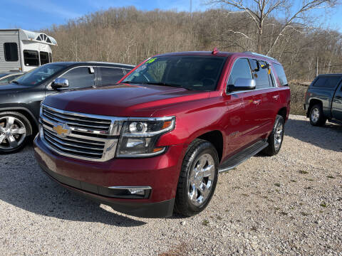2016 Chevrolet Tahoe for sale at PIONEER USED AUTOS & RV SALES in Lavalette WV