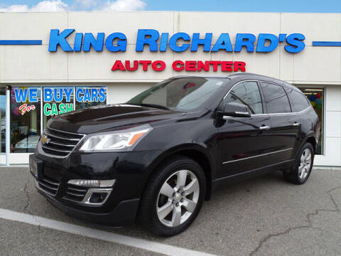 2014 Chevrolet Traverse for sale at KING RICHARDS AUTO CENTER in East Providence RI
