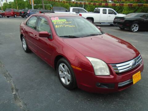 2008 Ford Fusion for sale at River City Auto Sales in Cottage Hills IL
