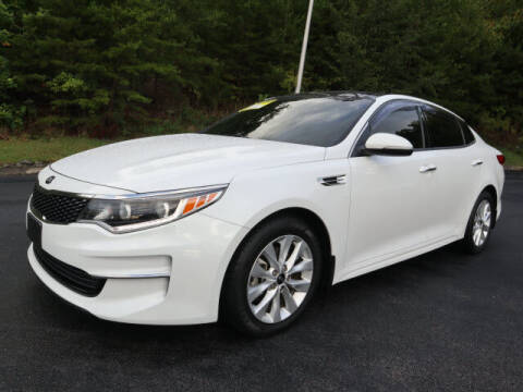 2016 Kia Optima for sale at RUSTY WALLACE KIA OF KNOXVILLE in Knoxville TN