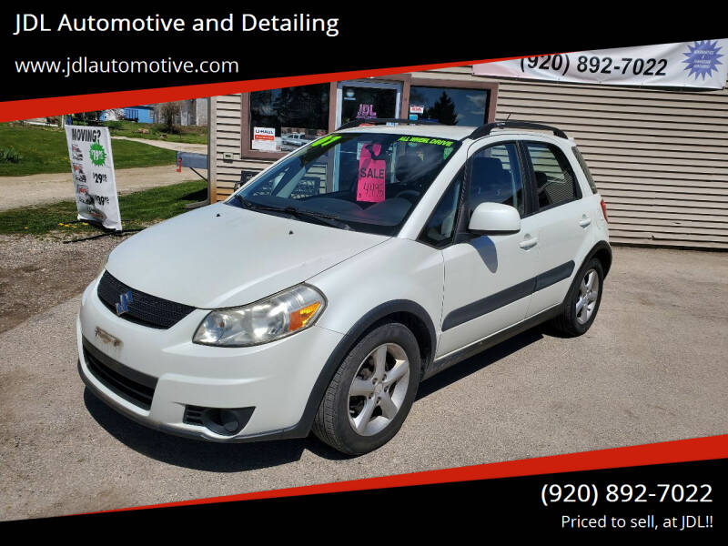2007 Suzuki SX4 Crossover for sale at JDL Automotive and Detailing in Plymouth WI