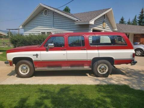 1985 Chevrolet Suburban for sale at Classic Car Deals in Cadillac MI