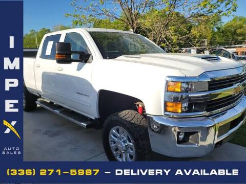 2017 Chevrolet Silverado 2500HD for sale at Impex Auto Sales in Greensboro NC