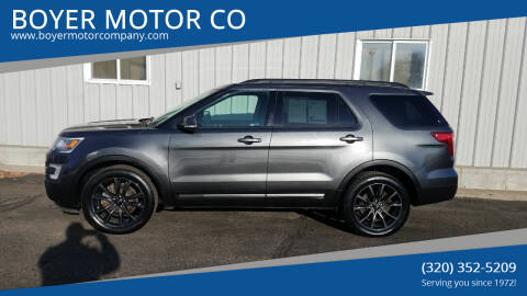 2017 Ford Explorer for sale at BOYER MOTOR CO in Sauk Centre MN