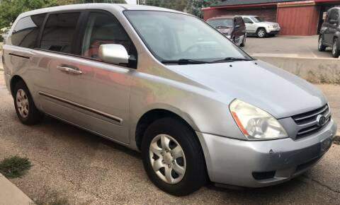 2006 Kia Sedona for sale at First Class Motors in Greeley CO