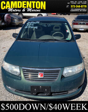 2006 Saturn Ion for sale at Camdenton Motors & Marine in Camdenton MO