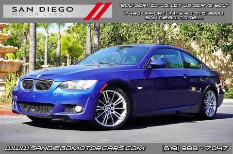2009 BMW 3 Series for sale at San Diego Motor Cars LLC in San Diego CA