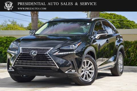 2018 Lexus NX 300 for sale at Presidential Auto  Sales & Service in Delray Beach FL