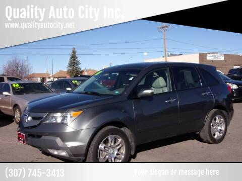 2008 Acura MDX for sale at Quality Auto City Inc. in Laramie WY