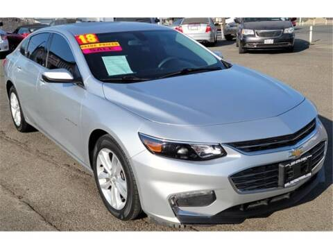 2018 Chevrolet Malibu for sale at ATWATER AUTO WORLD in Atwater CA