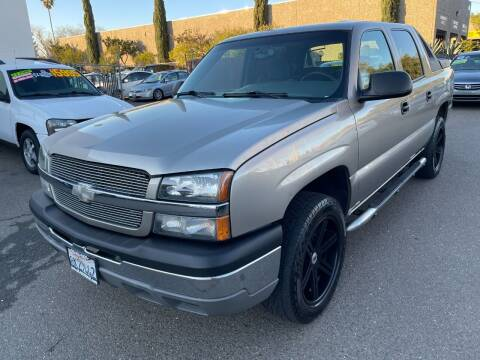 2003 Chevrolet Avalanche for sale at C. H. Auto Sales in Citrus Heights CA