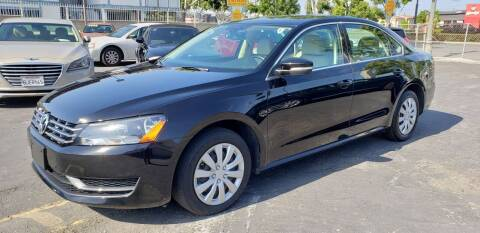 2015 Volkswagen Passat for sale at International Motors in San Pedro CA