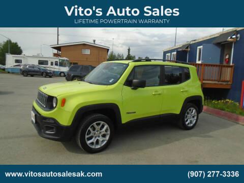 2018 Jeep Renegade for sale at Vito's Auto Sales in Anchorage AK