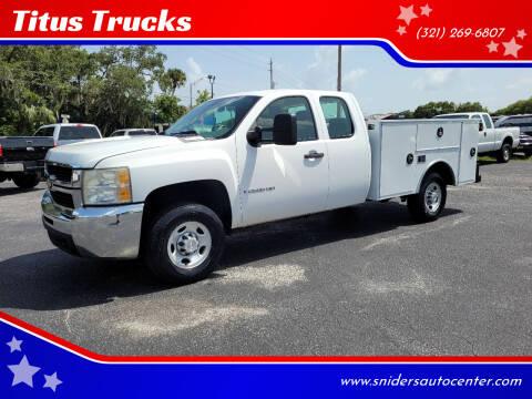 2009 Chevrolet Silverado 2500HD for sale at Titus Trucks in Titusville FL