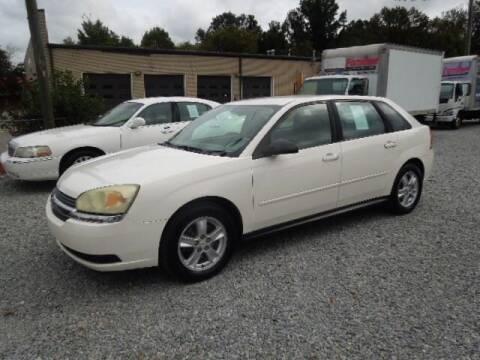 2004 Chevrolet Malibu Maxx for sale at Wheels & Deals Smithfield Inc. in Smithfield NC