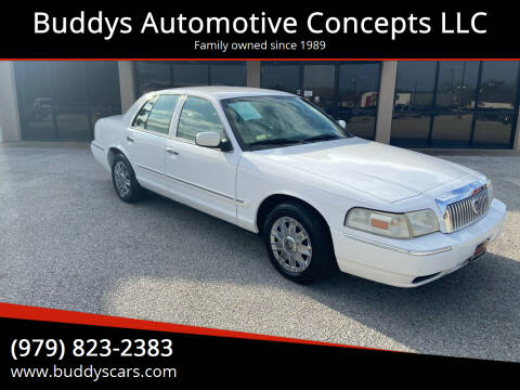 2006 Mercury Grand Marquis for sale at Buddys Automotive Concepts LLC in Bryan TX