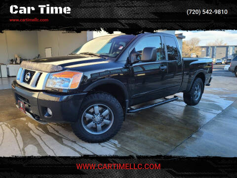 2015 Nissan Titan for sale at Car Time in Denver CO