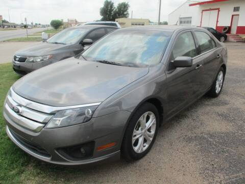2012 Ford Fusion for sale at Sunrise Auto Sales in Liberal KS