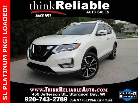 2018 Nissan Rogue for sale at RELIABLE AUTOMOBILE SALES, INC in Sturgeon Bay WI