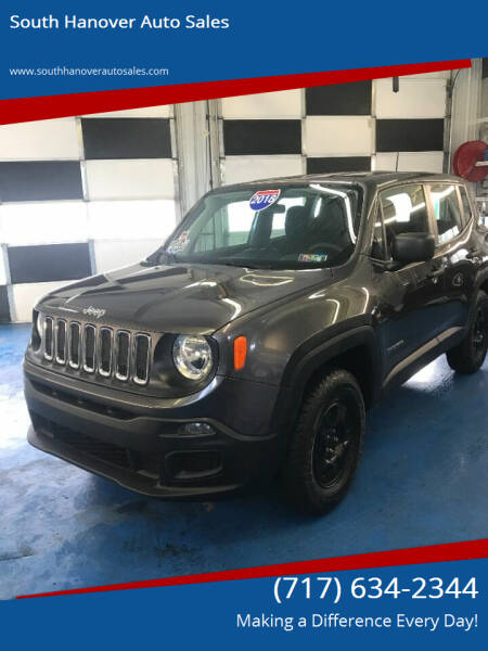 2018 Jeep Renegade for sale at South Hanover Auto Sales in Hanover PA