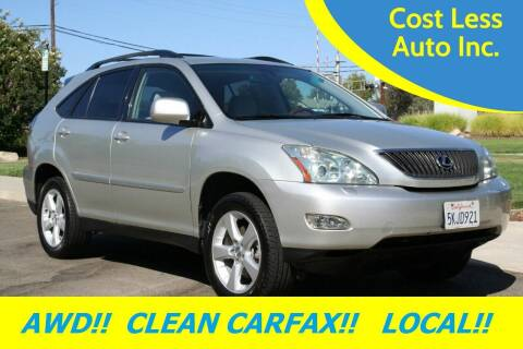 2005 Lexus RX 330 for sale at Cost Less Auto Inc. in Rocklin CA