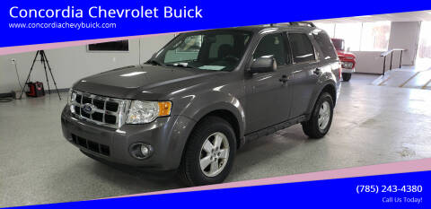 2011 Ford Escape for sale at Concordia Chevrolet Buick in Concordia KS