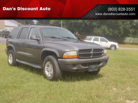 2003 Dodge Durango for sale at Dan's Discount Auto in Gaston SC