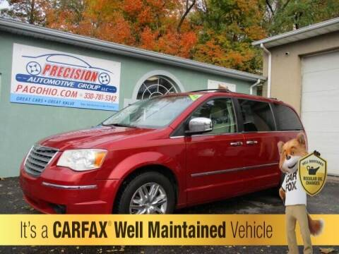 2010 Chrysler Town and Country for sale at Precision Automotive Group in Youngstown OH