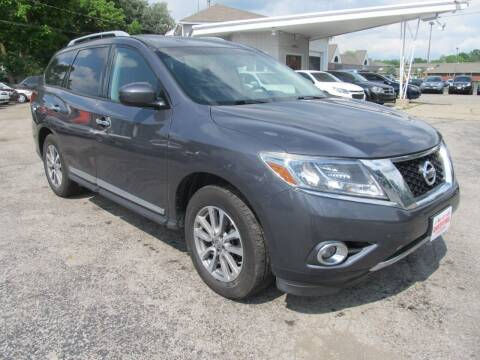 2013 Nissan Pathfinder for sale at St. Mary Auto Sales in Hilliard OH