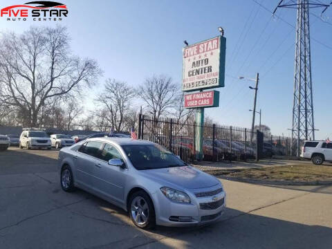2012 Chevrolet Malibu for sale at Five Star Auto Center in Detroit MI
