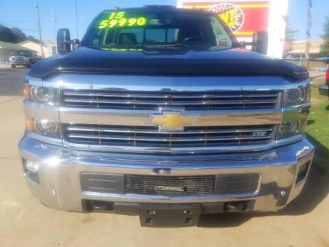 2015 Chevrolet Silverado 3500HD for sale at AUTOPLEX 528 LLC in Huntsville AL