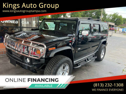 2004 HUMMER H2 for sale at Kings Auto Group in Tampa FL