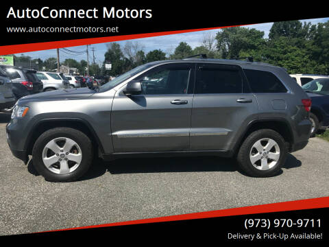 2012 Jeep Grand Cherokee for sale at AutoConnect Motors in Kenvil NJ