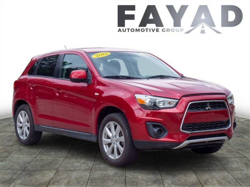 2014 Mitsubishi Outlander Sport for sale at FAYAD AUTOMOTIVE GROUP in Pittsburgh PA