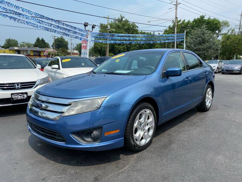2010 Ford Fusion for sale at WOLF'S ELITE AUTOS in Wilmington DE
