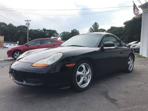 1999 Porsche 911 for sale at SOUTH SHORE AUTO GALLERY, INC. in Abington MA