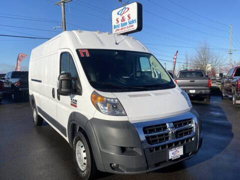 2017 RAM ProMaster Cargo for sale at S&S Best Auto Sales LLC in Auburn WA
